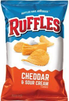 Ruffles Cheddar & Sour Cream 184.2gr