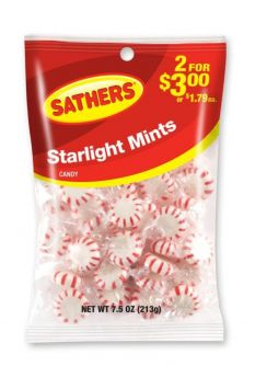 Sathers Peppermint 3.6oz (102g)