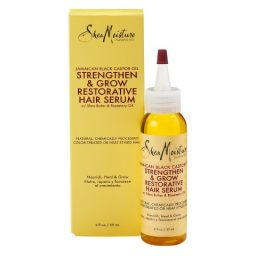 Shea Moisture Jamaican Black Castor Oil Strengthen & Restore Hair Serum 2oz