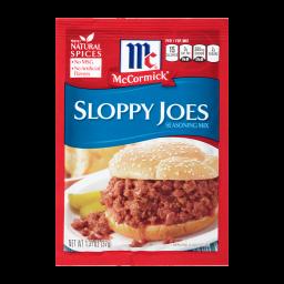 McCormick's Sloppy Joe Seasoning Mix 1.31oz (37g)