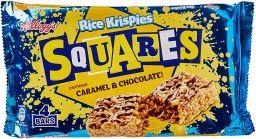 Kellogg's Rice Krispies Squares Caramel & Chocolate 4 stuks