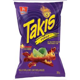 Barcel Takis Fuego Chili Lime Tortilla Chips 2.4oz (68g)