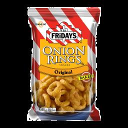 TGI Friday's Onion Rings Snacks - Baked 80gr