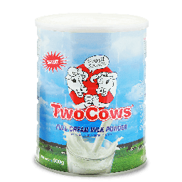 Two Cows Instant Milkpowder 900gr