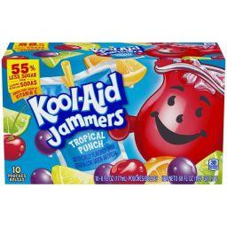 Kool-Aid Jammers Tropical Punch 10stuks