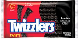 Hersheys Twizzlers Black Licorice Twists 7oz (198g)