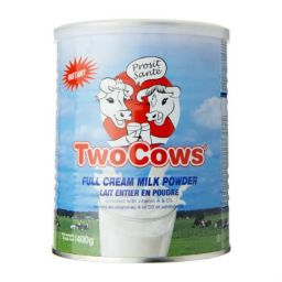 Two Cows Instant Milkpowder 400gr
