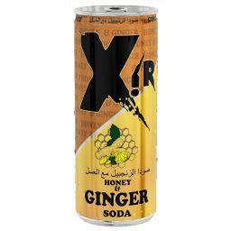 Xir Honey & Ginger Soda 8.5oz (250ml)