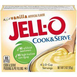 Jello Cook & Serve Pudding Vanilla 3oz (85g)