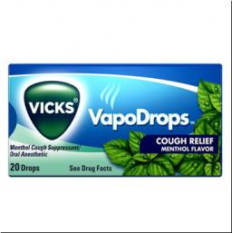 Vicks VapoDrops Cough Relief Menthol 20 stuks