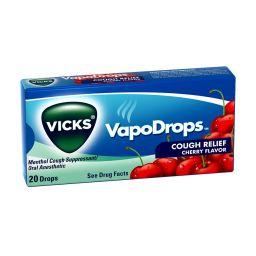 Vicks VapoDrops Cough Relief Cherry 20 stuks