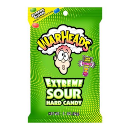 Warheads Extreme Sour Hard Candy 28gr