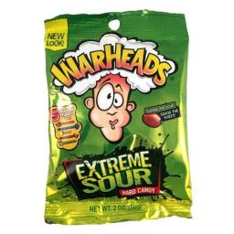 Warheads Extra Sour Hard Candy 56gr