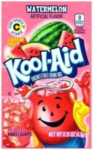 Kool-Aid Watermelon zakje 0.14oz (3.9g)