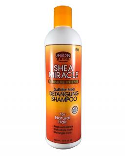 African Pride Shea Miracle Detangling Shampoo 12oz (355ml)