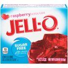 Jello Gelatin Sugar Free Raspberry Powder 0.3oz (8.5g)