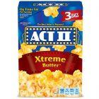 ACT II Popcorn Xtreme Butter 3 stuks