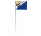 Cocktailprikker Bonaire Vlag - 50 stuks