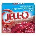 Jello Gelatin Sugar Free Cherry Powder 0.3oz (8.5g)