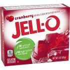 Jello Gelatin Cranberry Powder 3oz (85g)